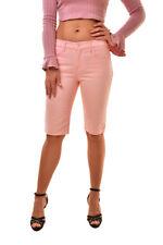 J BRAND Women's Simone Rocha SR9022T142 Slim Shorts Pink Size 24 RRP $279 BCF811