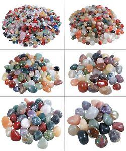 Trommelstein Mix Edelsteine bunte Mischung Halbedelsteine diverse Größen XS-XXL