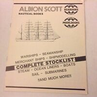 Albion Scott  Nautical Books Warships And More 1990s 062517nonrh2