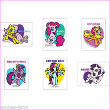 My Little Pony Tattoos x 12 - Loot Bags - Party Favours - Birthday - New in 2015