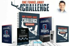 New ListingClickfunnels 30 Day One Funnel Away New Sealed Full Kit + Book Russell Brunson