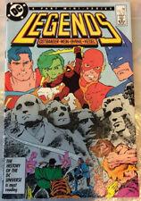Legends #3...January 1987...Byrne, JLA, Suicide Squad...NM