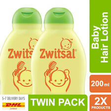 Zwitsal Baby Hair Lotion Natural Aloe Vera Candlenut Grow Thickening 2x200ml