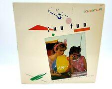 "Fun Fun-Color My Love 12"" Vinyl Maxi Single(American Import)1984"