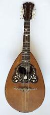 Mandoline Napolitaine LUIGI DORIGO Napoli instrument ancien mandolin
