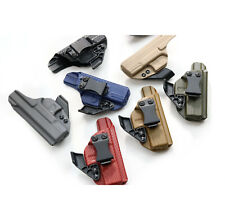 Fits Glock 43, 43X KYDEX IWB holster. Adjustable ride Height & Cant +CLAW/ WING