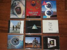 PINK FLOYD - 6 CD RELEASES & 3 DVD RELEASES BULK DARK SIDE OF THE MOON THE WALL