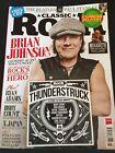 ACDC Brian Johnson Classic Rock Magazine May 2017 Paul Stanley Aerosmith