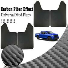 Universal Mudguards Mud Flaps Splash Guards Mudflaps Fender Carbon Fiber Effect