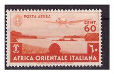 AOI - 1938  SOGGETTI VARI - POSTA AEREA  Cent. 60   NUOVO  **