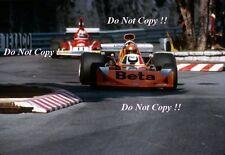 Vittorio Brambilla March 741 Monaco Grand Prix 1974 Photograph 1