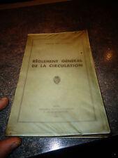 Réglement Général de la Circulation de la Ville de Lyon 1961 Code de la Route