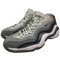 Nike Air Zoom Flight 96 Size 10 Men's Matte Silver Grey 317980 001 Jason Kidd