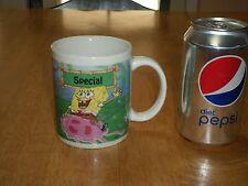 SPONGEBOB & STARFISH MAN, Ceramic Coffee Cup / Mug, Vintage