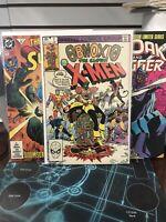 Lot Of 3 Obnoxio Xmen 1, Superman 497, Cloak Dagger 1 MARVEL DC VF TO NM HIGH