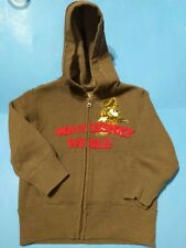 Mickey Mouse Pirates of the Caribbean Embroidered Hoodie Sweater Zipper-Front