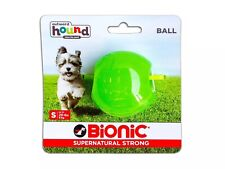 Bionic Ball, Durable,Tough Fetch & Chew Toy For Your Dog.  Green Small