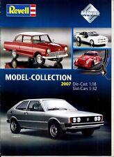 Catalogue Revell Métal Collection Année 2007