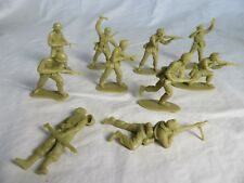AIRFIX & MARX WWII GERMAN Afrika Korp Toy Soldiers - COPIES - (54MM) - Tan