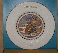 Coalport Bone China 1979 Christmas Collectors Plate Christmas Morning MINT- BOX