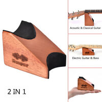 Guitar Neck Rest Support Pillow Holder for Electric&Acoustic Guitar Luthier S8Q4
