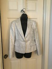 NWOT MICHAEL KORS METALLIC THREAD JACKET- SIZE 10