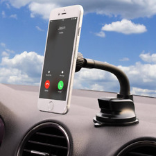 Dashboard Mount Holder Washable Strong Gelpad & Windshield MagGrip for Galaxy S6