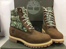 Timberland 6in Premium Waterproof Puffe Tobacco Mens Boots, Size UK 7.5 /EU 41.5