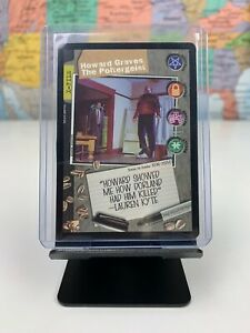 SHIPS SAME DAY The X-Files Card LP/NM Howard Graves The Poltergeist 1996 CCG TCG