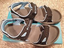 NWT Columbia Women's Techsun 3 Sandals Size 9 Black and Blue