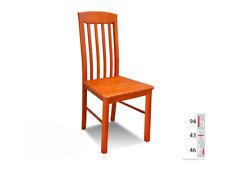 Bois Massif Chaise de Salle à Manger Design Cuir à K21