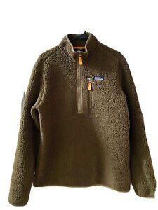 Patagonia Retro Pile Fleece 1/4 Zip Pullover
