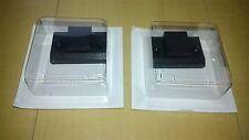 "Pair Dustcover Hinge Case & Screws set""B"" Technics SL-1200/1210 mk2/3/3D/4/mk5/6"