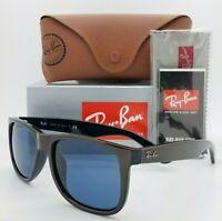 NEW Rayban Justin sunglasses RB4165F 647080 55mm Brown Dark Blue Classic 4165