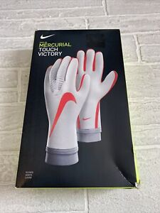 Nike Adult GK Mercurial Victory Touch Elite Goalkeeper Gloves GS0382-043 Size 8