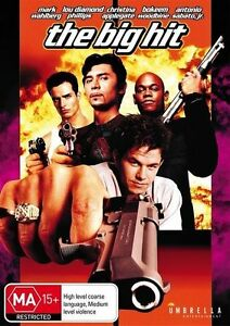 The Big Hit ( DVD, 1998 ) Mark Wahlberg, Lou Diamond Phillips - REGION 4