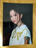 Hand signed Gloria Tang Tsz-Kei G.E.M. 邓紫棋 autographed photo 5*7 Original 亲笔签名照