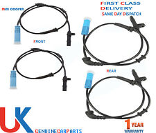 4X  ABS SPEED SENSOR FOR MINI ONE COOPER S R50 R52 R53 (01-07) LEFT & RIGHT