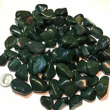 Bloodstone - Tumbled and Highly Polished - 1 Pound Lots ~ (60 - 70) Gemstones