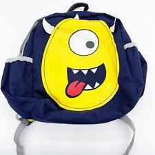 Hanna Andersson Toddler silly Monster cyclops back pack FLAWS
