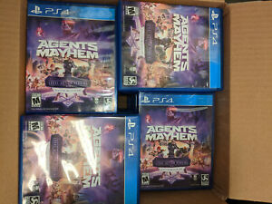 (40 Game Lot)Agents of Mayhem PS4 Playstation Day One W/Legal Action Pending DLC