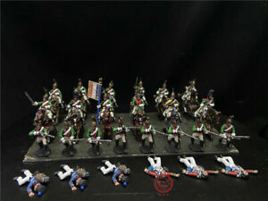 1/56 28mm DPS painted Napoleonic Wars French Dragoon 2nd Regiment GH3068