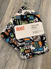 BUILT Kindle Fire Twist Top Sleeve Neoprene Tablet Case Zipper-Free Lightweight