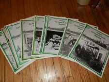 ANTIQUE GAS ENGINE AND TRACTOR MAGAZINE 10 Issues 1978-80 John Deere Redemotor