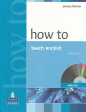 Longman HOW TO TEACH ENGLISH with DVD by Jeremy Harmer @NEW BOOK@