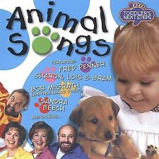 Toddler's Next Steps: Animal Songs Various Artists MUSIC CD
