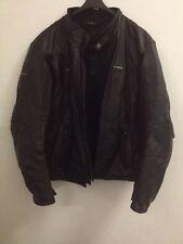 Giubbotto motociclista in pelle marca SPIDI - biker leather jacket SPIDI brand