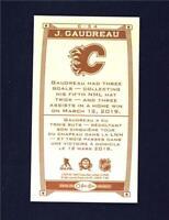 2019-20 UD O-Pee-Chee Caramel Wood Mini #C-34 Johnny Gaudreau - Calgary Flames