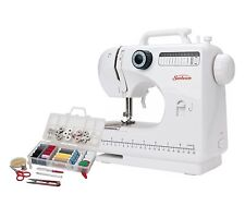 Compact Portable  Sewing Machine 12 Stitch & Sewing Kit Included Sunbeam SB1818
