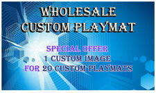 WHOLESALE 20 CUSTOM PLAYMATS WITH FREE SHIPPING